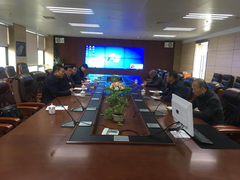 周口高新区招商科赴广州七喜集团招商肿瘤医院项目