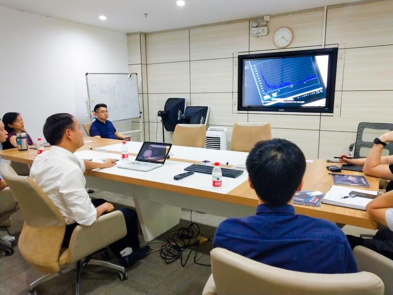 七喜集團與聯合醫生集團商談大健康產業話題